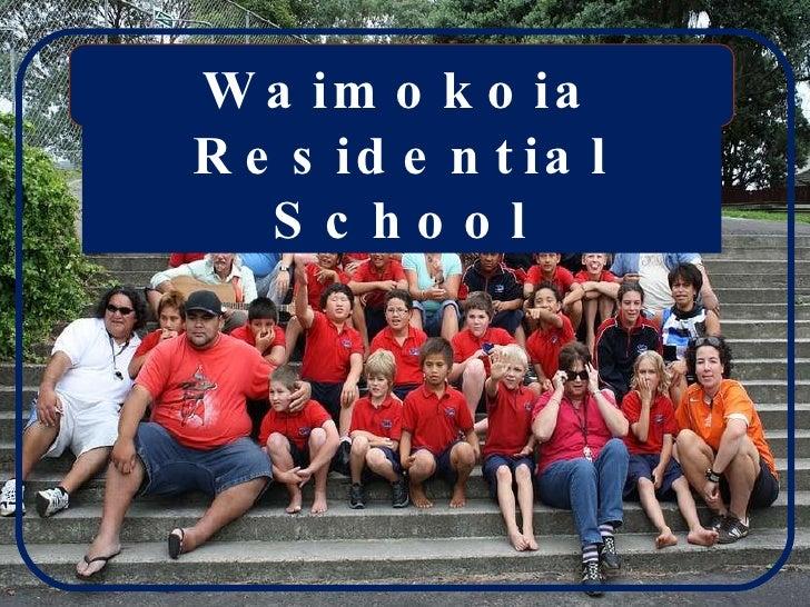 Waimokoia Residential School