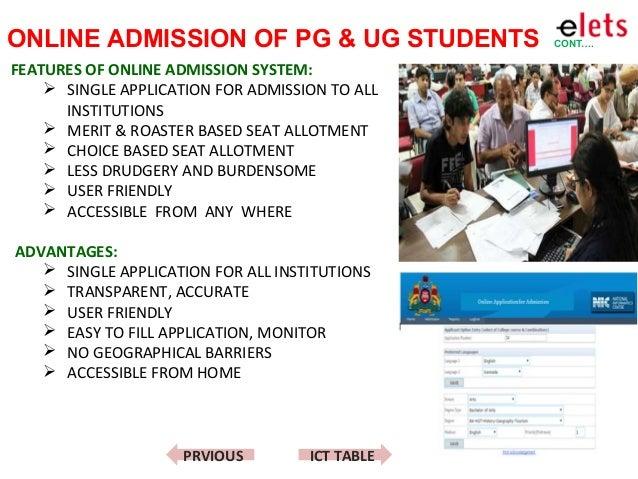 online student admission system