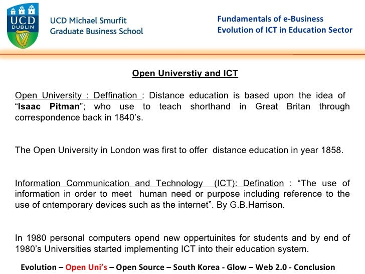 impact of ict in universities Aga khan university institute for educational development - eastern africa research report no 1 document and assess the impact of prominent past and current international and local initiatives to use ict in widening access and participation.