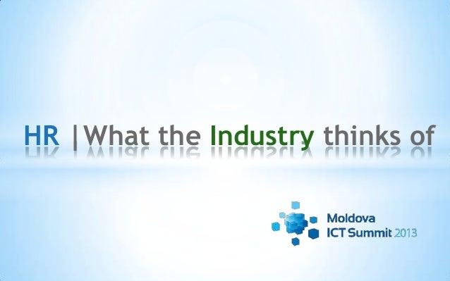HR: What industry thinks of by Olivier Prado