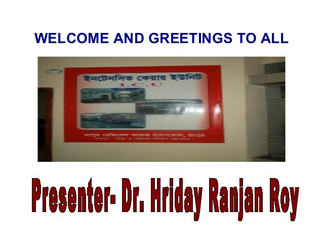 WELCOME AND GREETINGS TO ALL