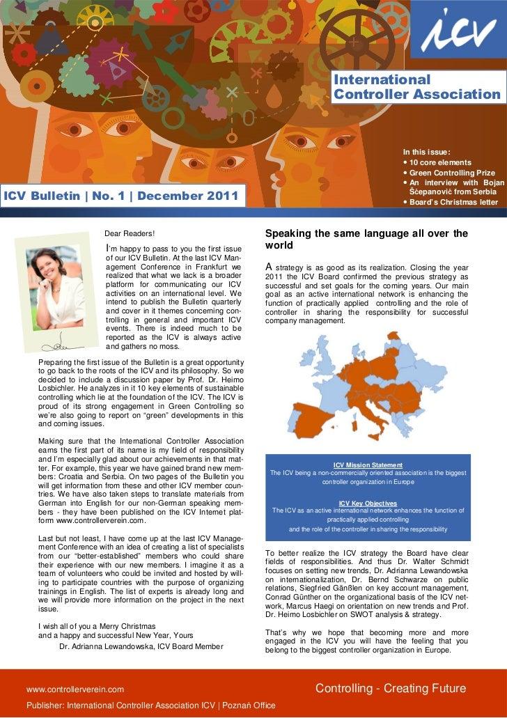 Icv bulletin december 2011