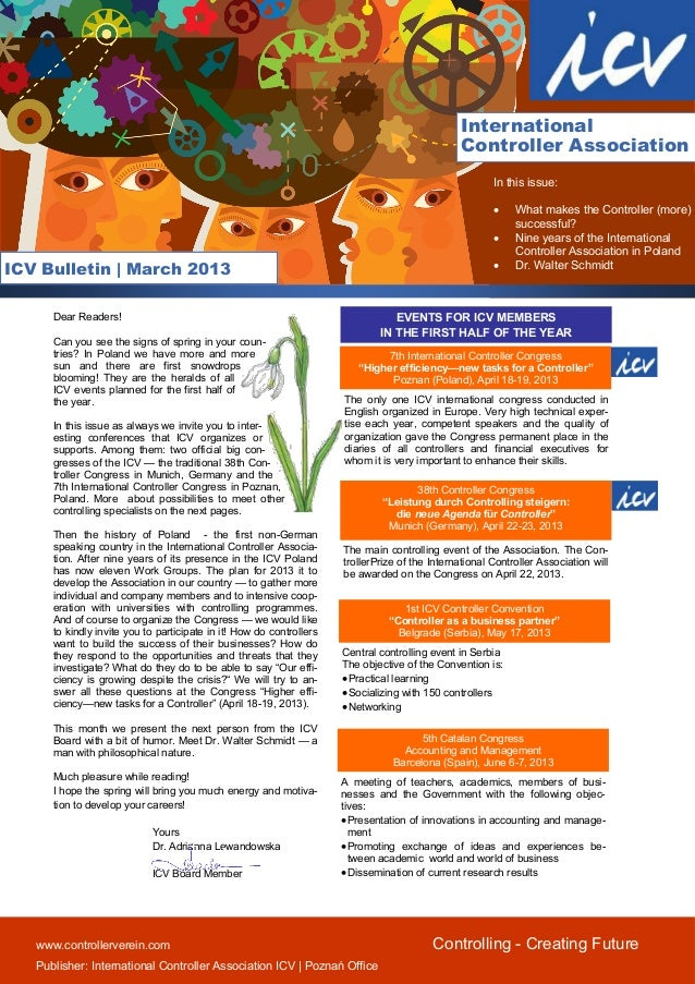 Icv bulletin march 2013