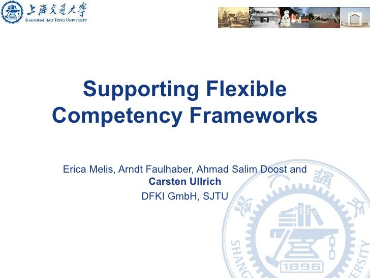 Supporting Flexible Competency Frameworks