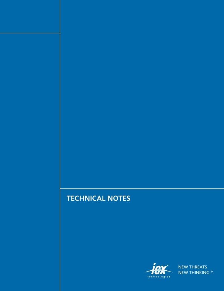 I Cx Surveillance Tech Notes