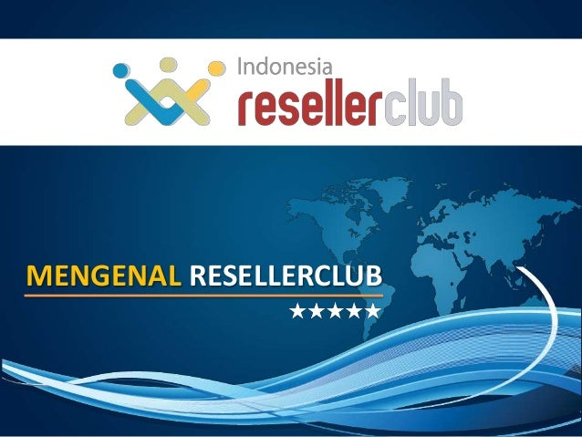 ID - ResellerClub Program Overview