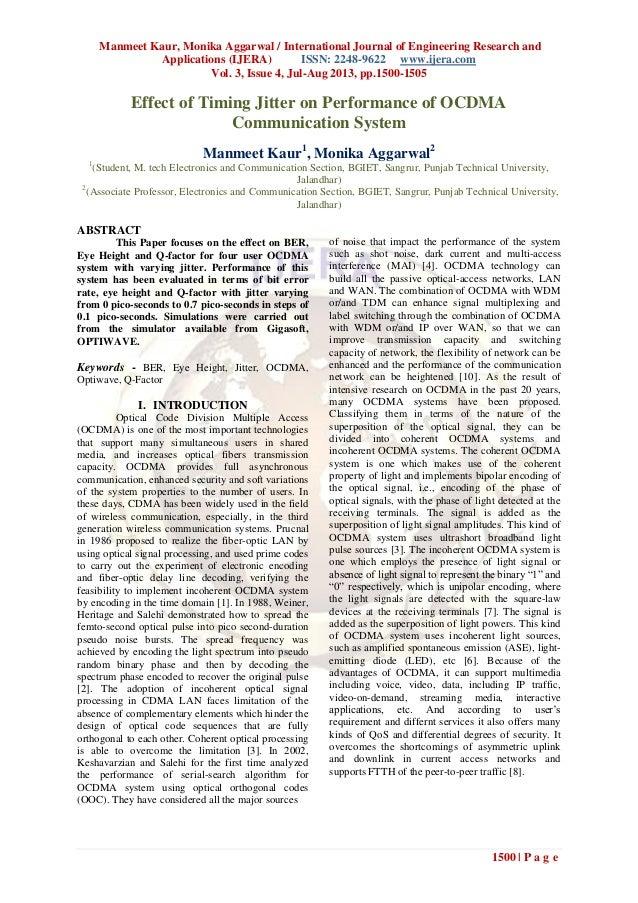 Manmeet Kaur, Monika Aggarwal / International Journal of Engineering Research and Applications (IJERA) ISSN: 2248-9622 www...