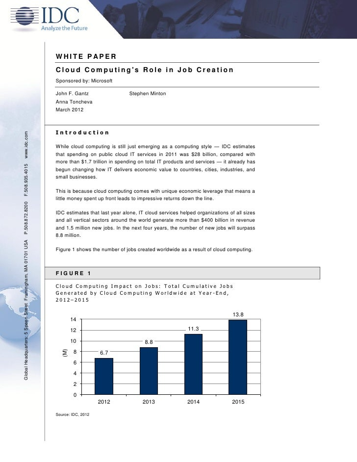 Idc cloud jobs_white_paper
