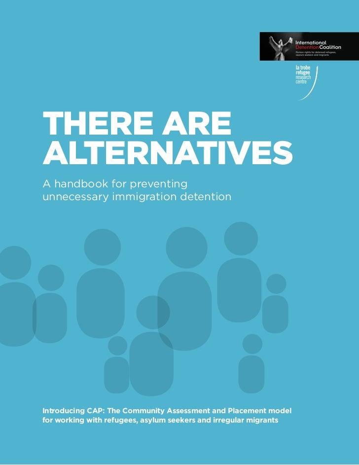 Idc handbook on alternatives to detention