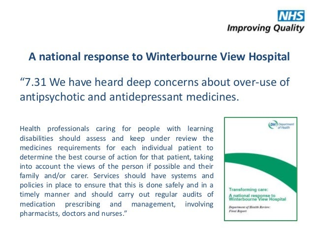 winterbourne view hospital It's been five years since the abuse and neglect of patients at winterbourne view  hospital near bristol was discovered an undercover.