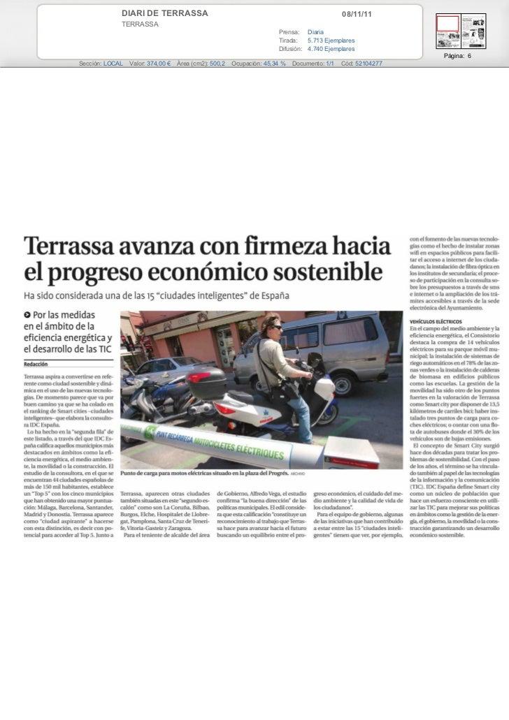 DIARI DE TERRASSA                                                               08/11/11             TERRASSA             ...