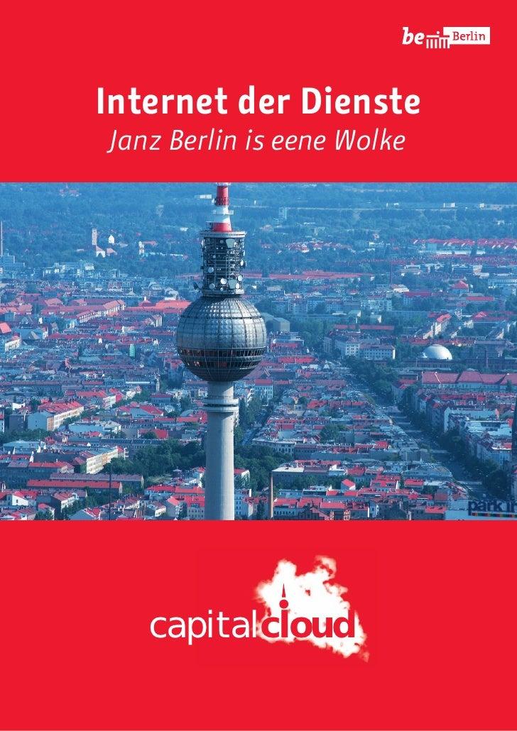 Internet der DiensteJanz Berlin is eene Wolke   capitalcloud