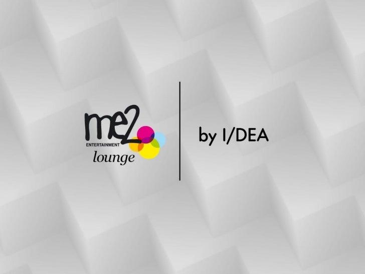 Me2 Lounge by I/DEAUm espaço constituído pelas Arquitetas Bia Pelegrini e a design deinteriores Márcia Debski explora as f...