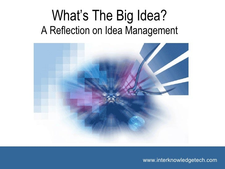 Idea Management