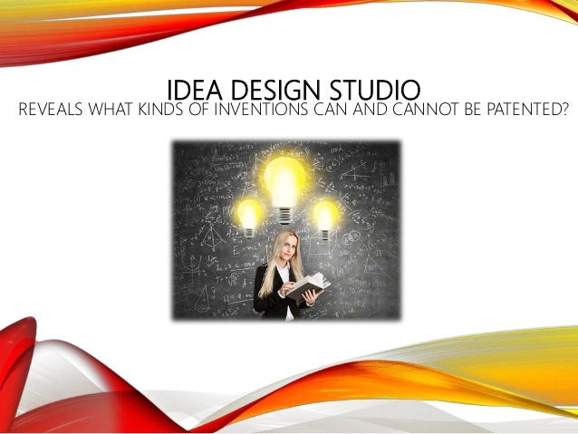 Idea Design Studio preview clipart Idea Design Studio Reveals What Kinds Of Inventions Can And Cannot Be Patented