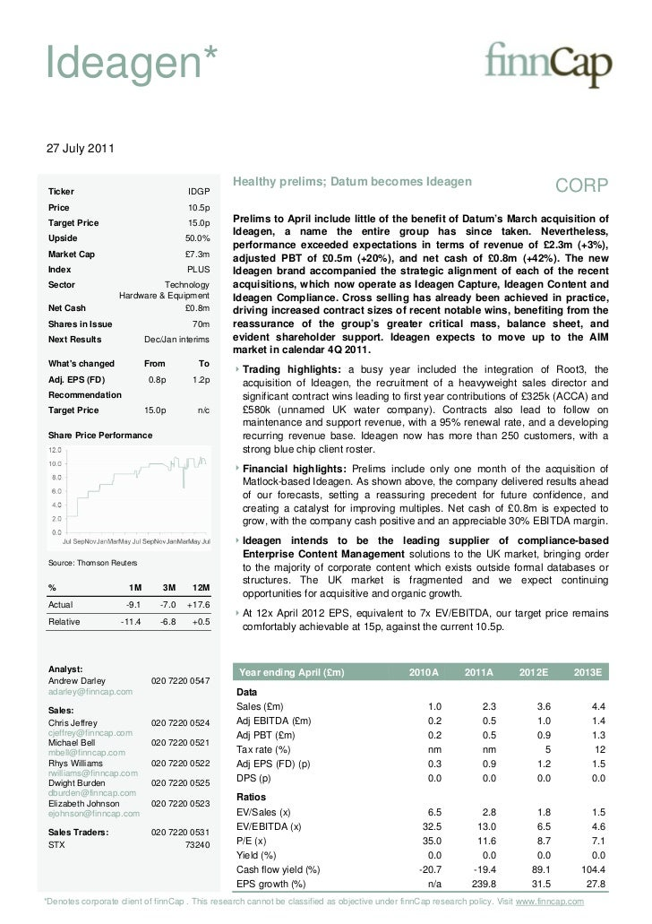 FY10 financial results