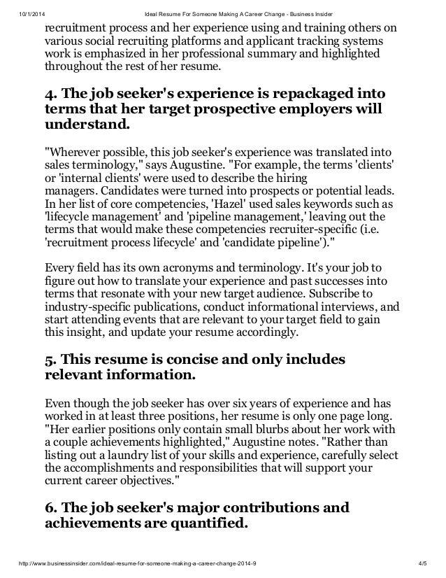 job ideal