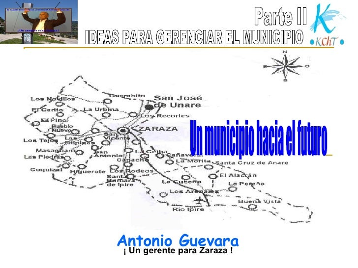 Parte II Un municipio hacia el futuro IDEAS PARA GERENCIAR EL MUNICIPIO