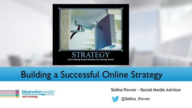 Building a Successful Online Strategy