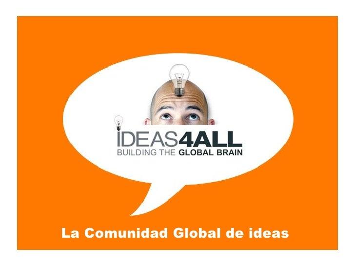 La Comunidad Global de ideas