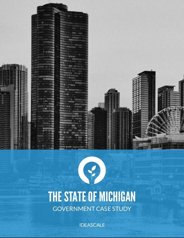 IdeaScale Case Study: State Of Michigan