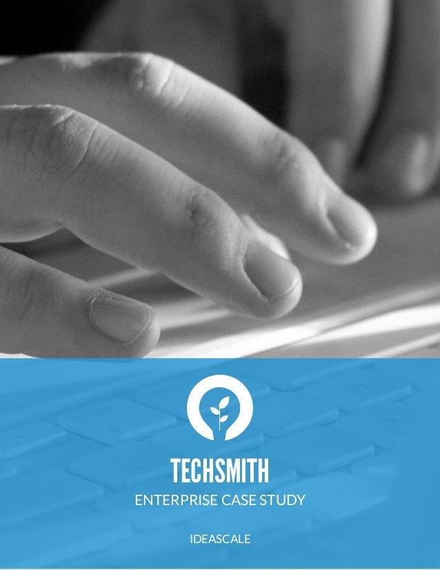 IdeaScale Case Study: Techsmith