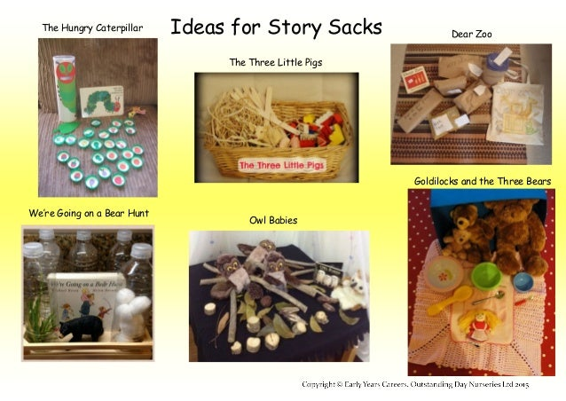 Ideas For Story Sacks In The Early Years
