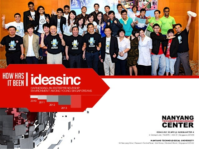 Nanyang Technological University 50 Nanyang Drive | Research TechnoPlaza | 2nd Storey | BorderX Block | Singapore 637553 I...