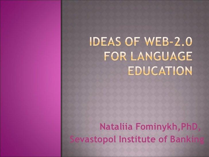 Ideas of web 2