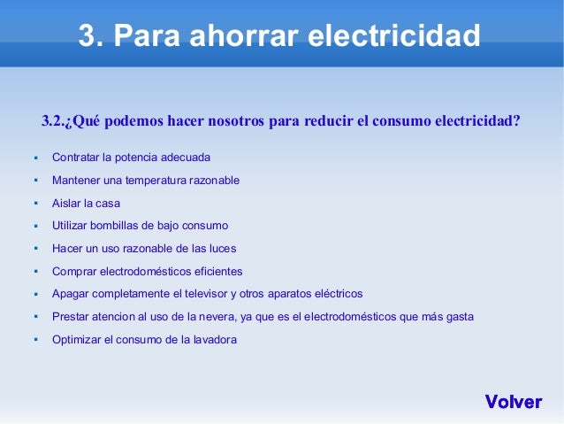 Ideas para reducir consumo - Aparatos para ahorrar electricidad ...