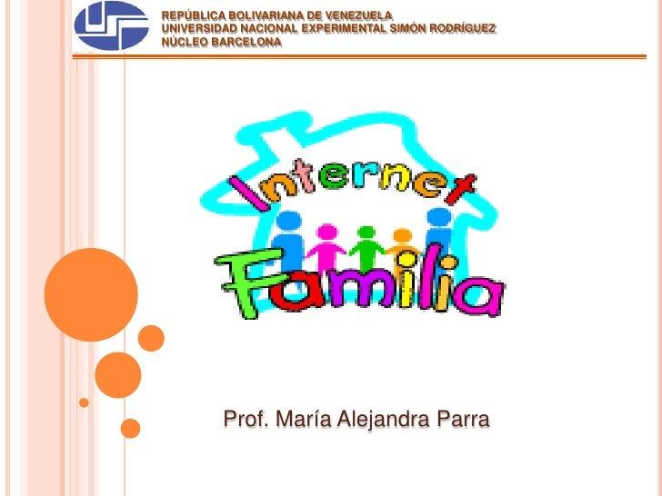 REPÚBLICA BOLIVARIANA DE VENEZUELA<br />UNIVERSIDAD NACIONAL EXPERIMENTAL SIMÓN RODRÍGUEZ<br />NÚCLEO BARCELONA<br />Prof....