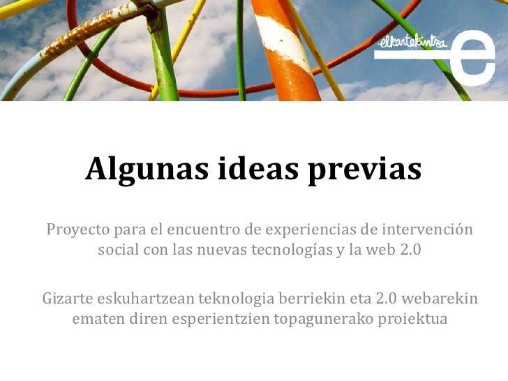 Ideas previas 3er sector_elk