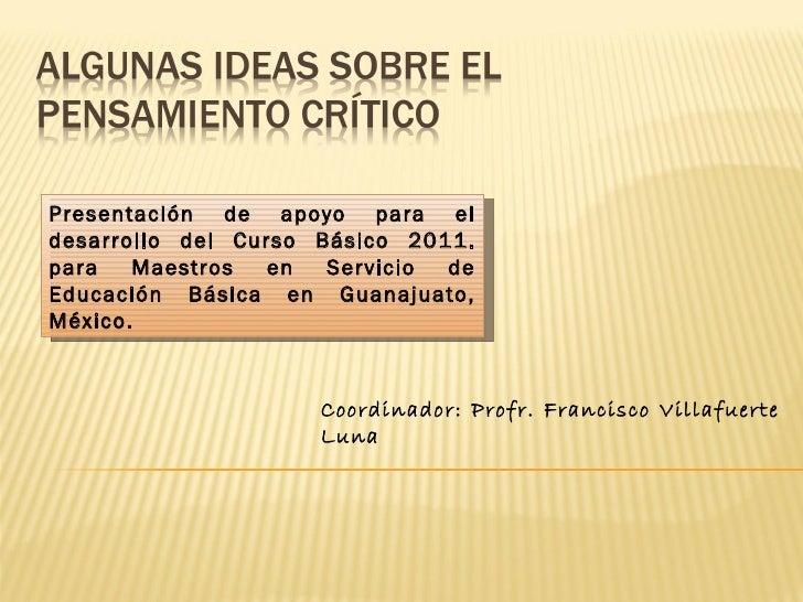 Ideas sobre pensamiento_crítico