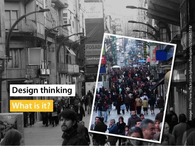 "IDEA Summit ""What is Design Thinking"""
