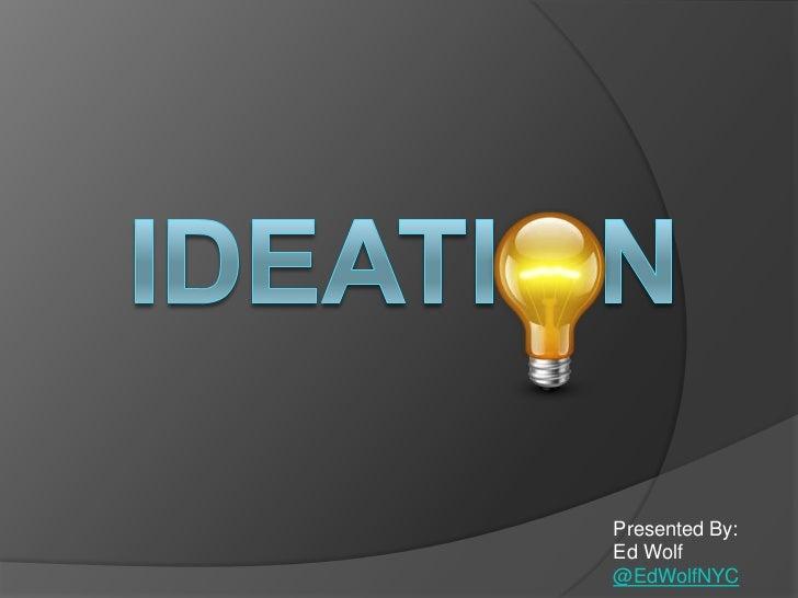 Ideation Platform