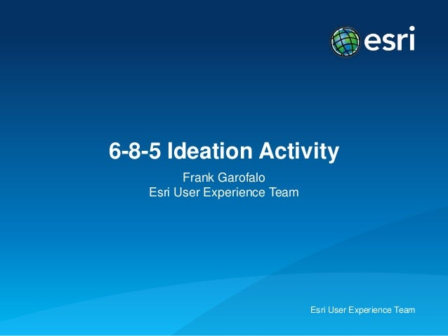 Ideation6 8-5 activity