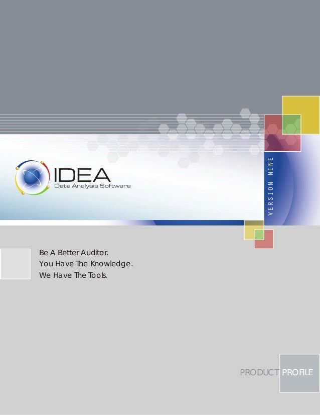 Idea v9 product profile