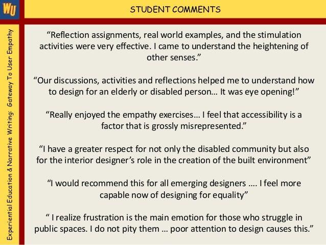 teaching an empathetic essay