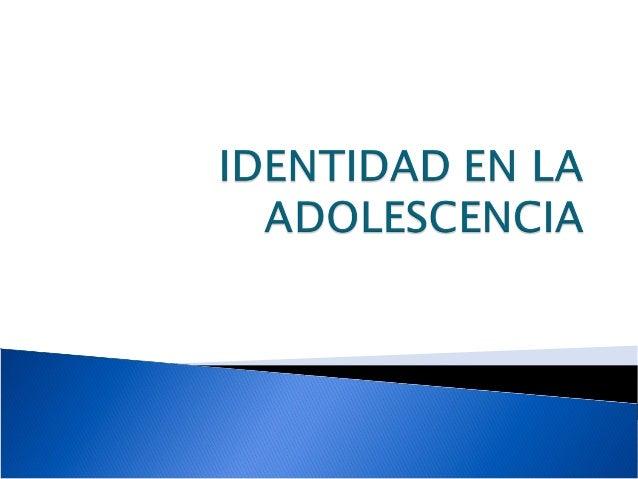 La adolescencia es una etapa que forma parte del desarrollo de los individuos