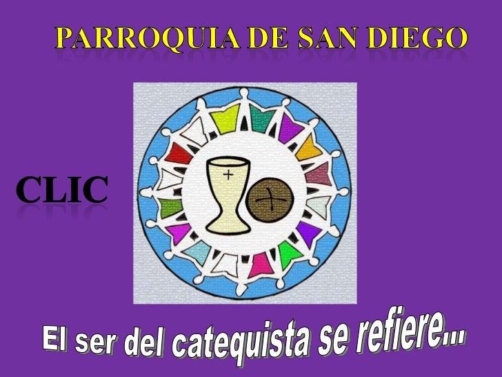 EL CATEQUISTA DE INICIACION        CRISTIANA