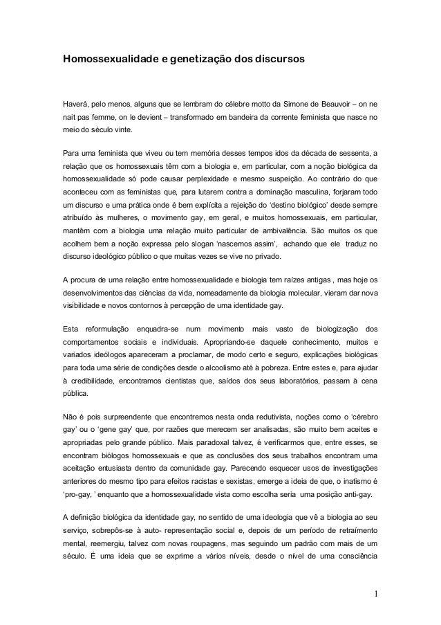 Identidadebiologica da homo bio