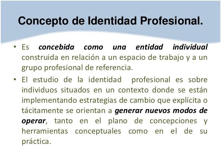 Identidad e imagen profesional for Que es practica de oficina