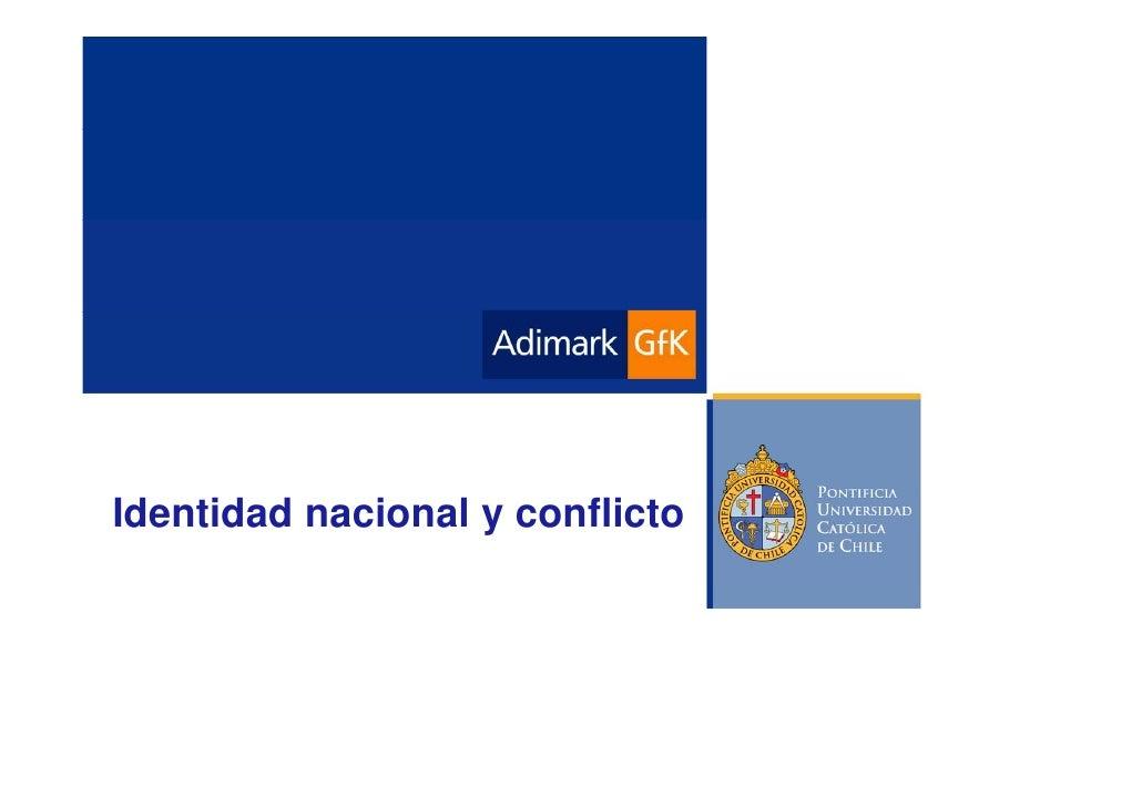 Identidad nacional y conflicto