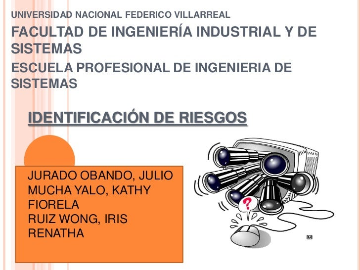 UNIVERSIDAD NACIONAL FEDERICO VILLARREAL<br />FACULTAD DE INGENIERÍA INDUSTRIAL Y DE SISTEMAS <br />ESCUELA PROFESIONAL DE...