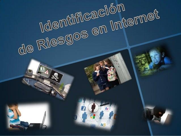 Identificacion de riesgos en internet