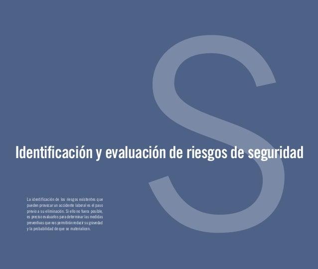 Identificacion y evaluacion de riesgos