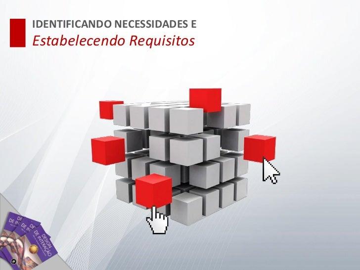 IDENTIFICANDO NECESSIDADES EEstabelecendo Requisitos                               Engenharia de Usabilidade