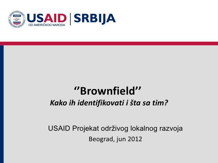 Identifikacija brownfield lokacija