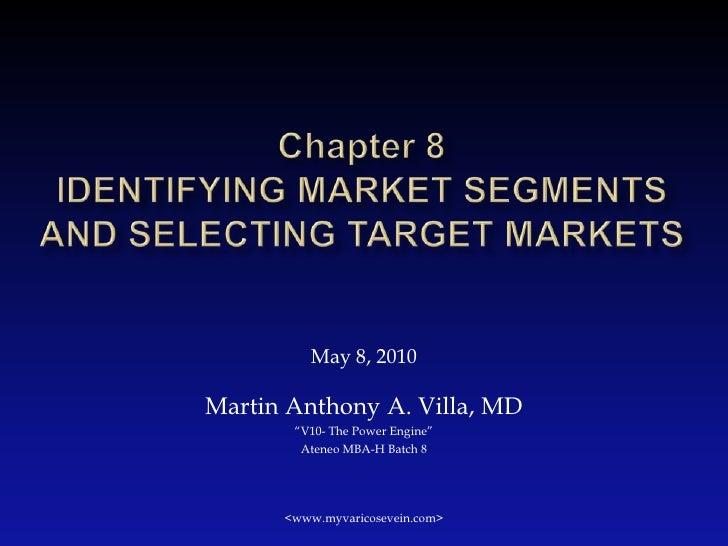 Identifying Market Segment