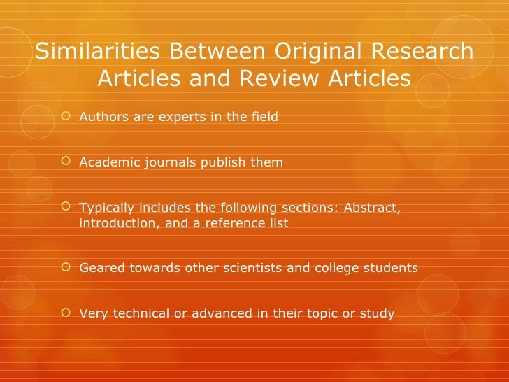 secondary biology articles